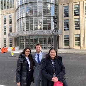 Students Gain Intellectual Property Law Experience Outside the Classroom